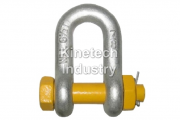 Yellow Pin Shackles – dee shackles with safety pin code G-3153
