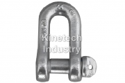 Shackles DIN 82101 type A – dee shackles with screw collar pin code G-3351