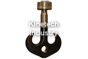Complete forged hooks according to DIN 15411