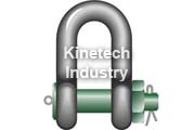 Green Pin Heavy Duty Shackles – dee shackles with safety bolt code G-6038