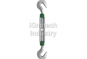 Green Pin Turnbuckles Hook-Hook – generally to ASTM F1145-92 code G-6312