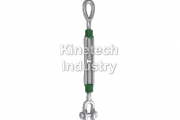 Green Pin Turnbuckles eye-jaw – generally to ASTM F-1145-92 code G-6315
