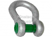 Green Pin Sunken Hole Shackles – bow shackles with safety bolt Bow shackles with square hole screw pin code G-4169
