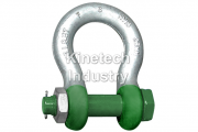 Green Pin Polar Shackles – bow shackles with safety bol